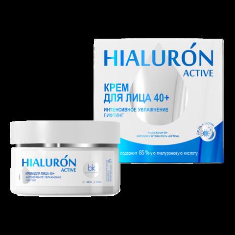 BelKosmex Hialuron Active Крем для лица 40+ интенсивное увлажнение лифтинг 48г