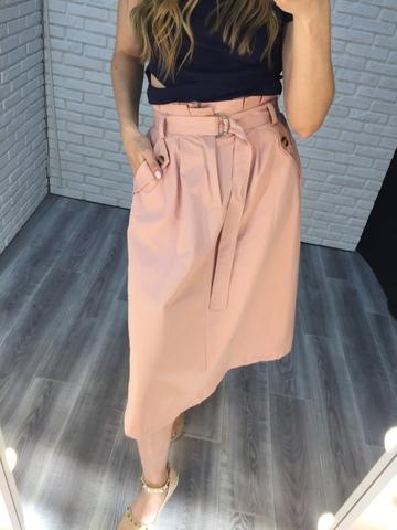 длинная юбка розовая nadya