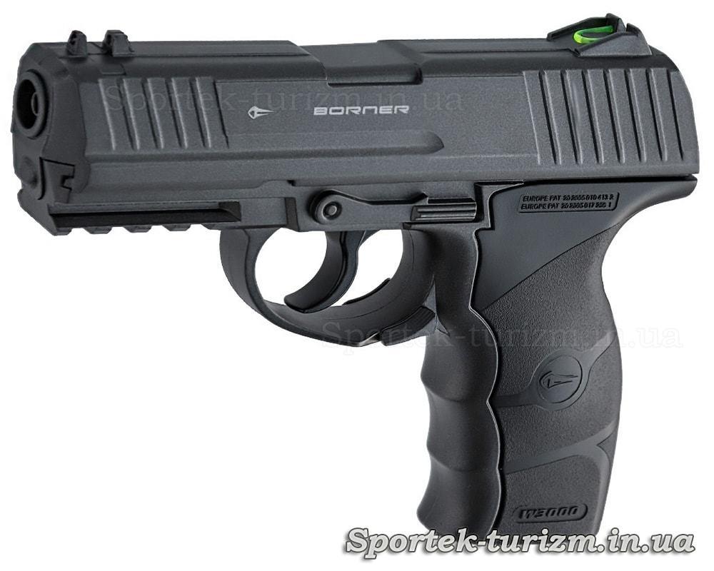 Пістолет пневматичний Borner W3000M калібру 4,5 мм, газобалонний