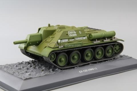 Tank SU-122 1943 1:43 DeAgostini Tanks. Legends Patriotic armored vehicles #13