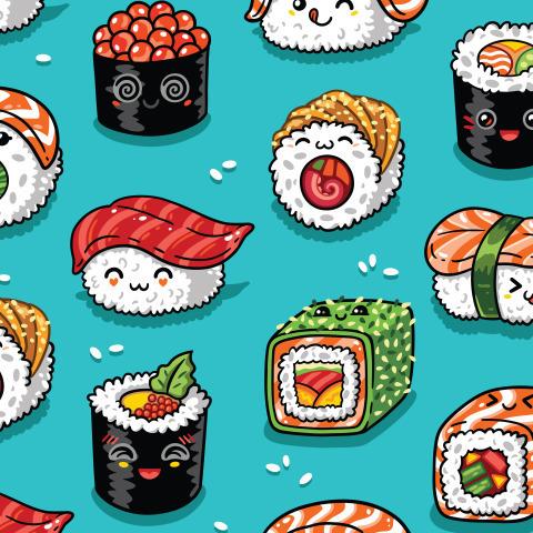 Кавайные суши