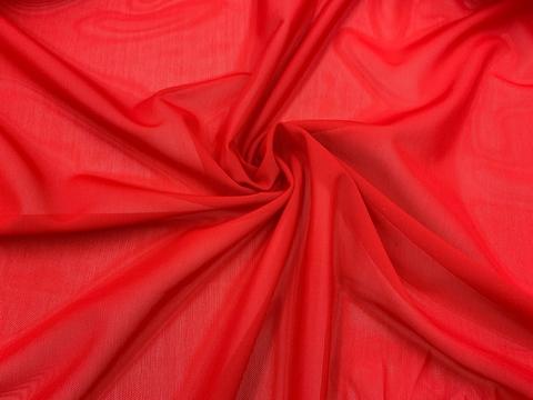 Сетка эластичная красная (цв. 100) Lauma, плотная
