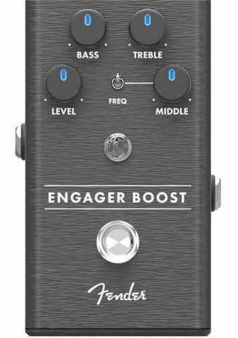 Fender Engager Boost Pedal Педаль эффектов - бустер