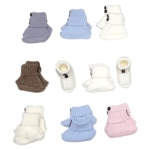 Пинетки вязаные малышам (0+) 201217-р-002