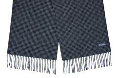 Шерстяной шарф, мужской серый 31532