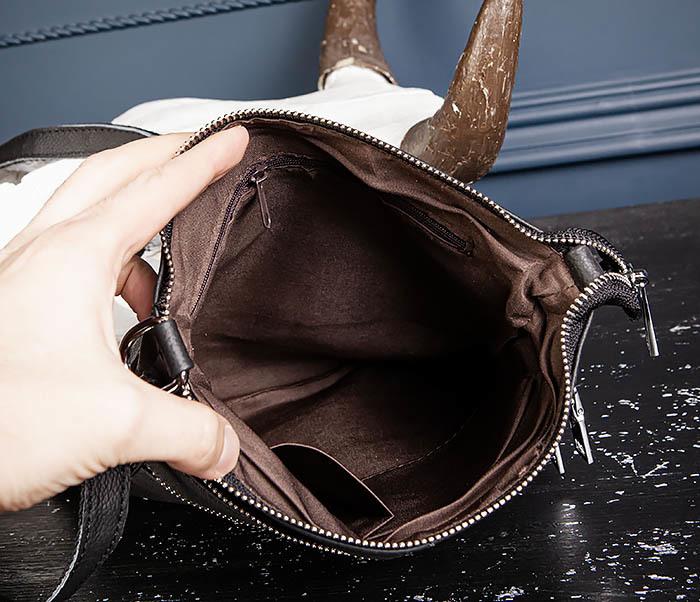BAG538-1 Мужская сумка планшет с ремнем через плечо фото 08