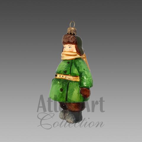 Карапуз в пальто
