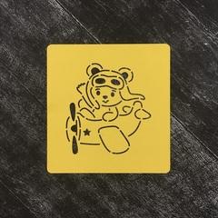 Медведь в самолете №1