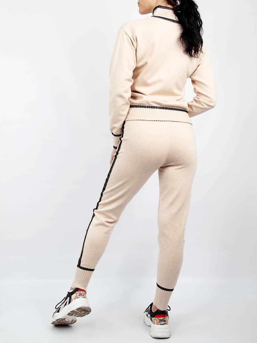 Moda Комплект двойка кофта с брюками