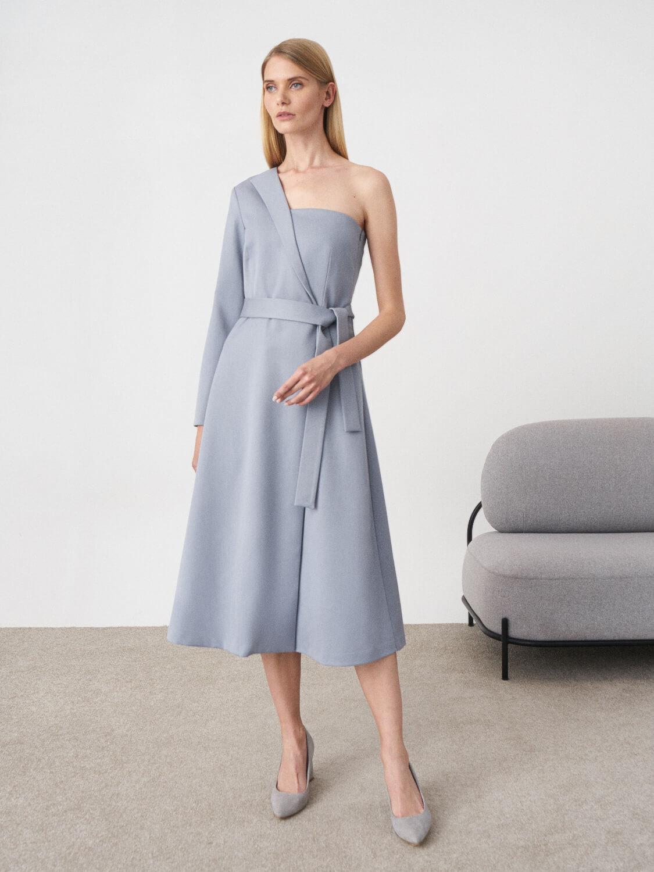 Платье длинное Lydia на одно плечо