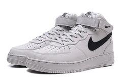 Nike Air Force 1 Mid 'White/Black'