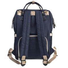 Mommy Bag. Сумка-рюкзак для мамы, темно-синий вид 2