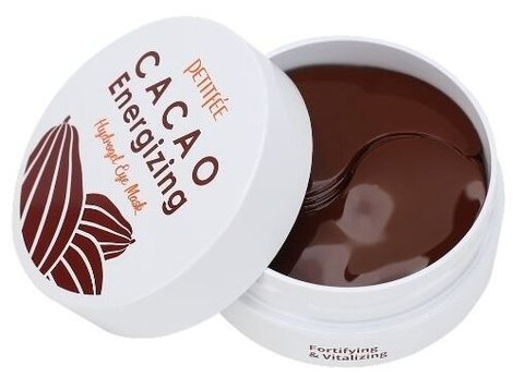 Гидрогелевые патчи для глаз Cacao Energizing Hydrogel Eye Mask, Petitfee60 шт