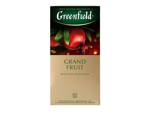 купить Чай черный в пакетиках из фольги Greenfield Grand Fruit, 25 пак/уп
