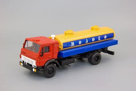 KAMAZ-5325 milk tanker Elecon 1:43