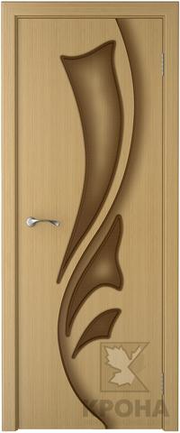 Дверь Крона Лидия, цвет дуб, глухая
