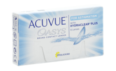 Johnson & Johnson - Acuvue oasys with hydraclear plus for astigmatism 2