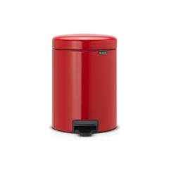Мусорный бак newIcon (5 л), Пламенно-красный