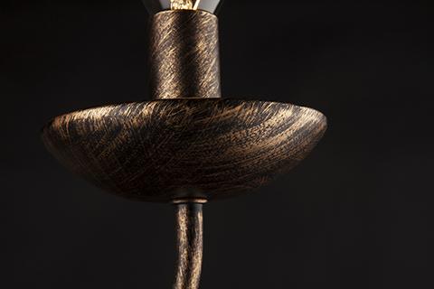 Бра в классическом стиле 22404/1 черный с золотом
