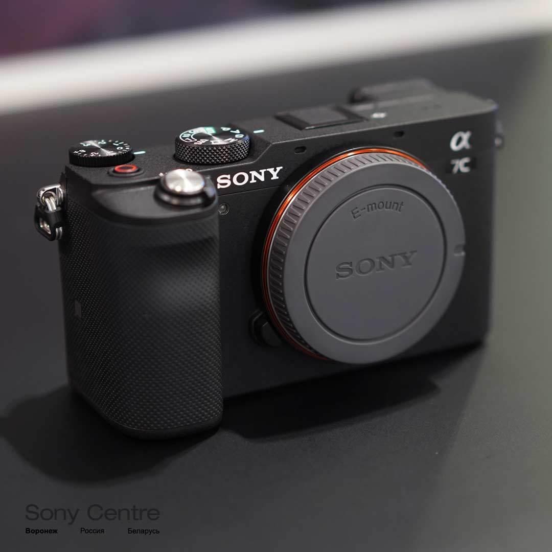 Фотоаппарат Sony A7C body чёрный купить в интернет-магазине Sony Centre