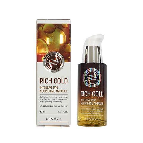 Питательная сыворотка с золотом  ENOUGH Rich Gold Intensive Pro Nourishing Ampoule 30 мл.