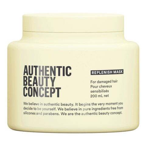 AUTHENTIC BEAUTY CONCEPT Маска восстанавливающая для поврежденных волос Replenish