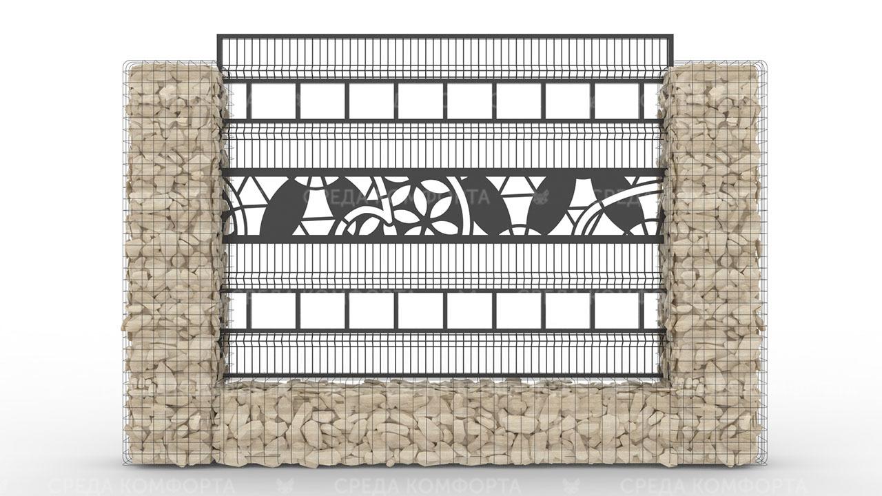 Забор 3Д ZBR0091