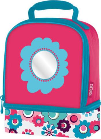 Термосумка детская Thermos Floral Dual (розовая)