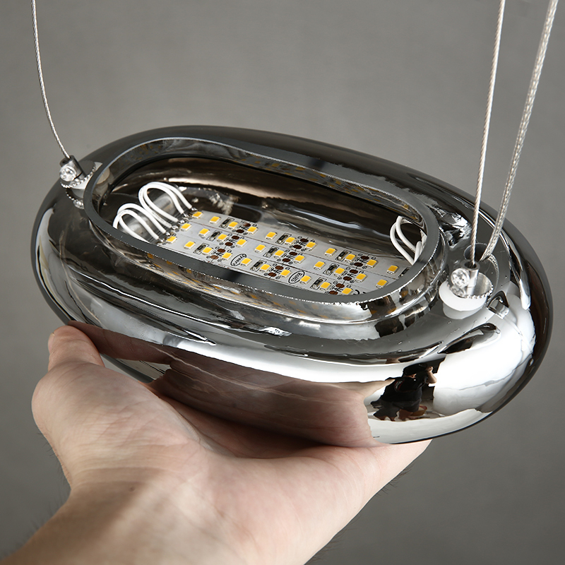 Потолочный светильник копия Mercury by Artemide (8 плафонов)