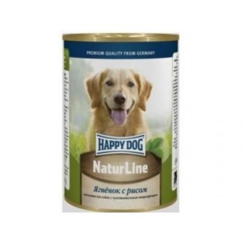 Happy Dog NaturLine для взрослых собак. Ягненок с рисом 400г 1 шт