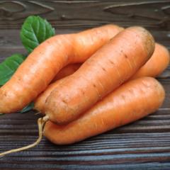 Морковь свежая без ботвы (Краснодар) / 1 кг