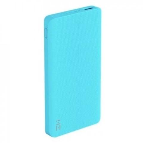 Внешний аккумулятор Power Bank Xiaomi (Mi) ZMI 10000 Type-C  (Li 10000 mAh) Quick Charge 2.0,  (QB810) голубой