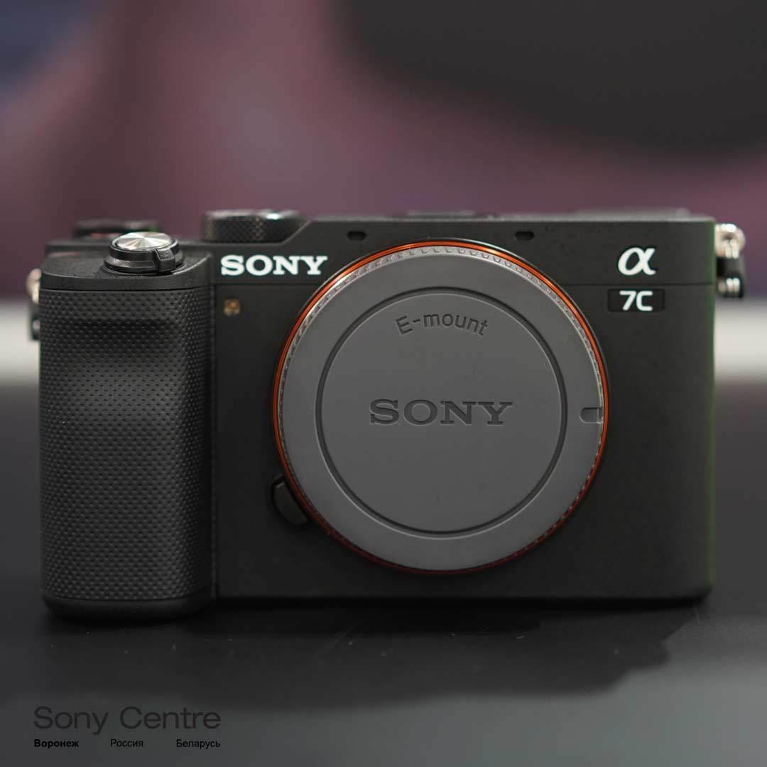 Фотоаппарат Sony A7C body чёрного цвета купить в интернет-магазине Sony Centre