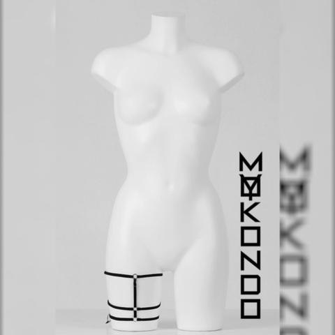 MyMokondo Подвязка Сатис (Черный, one size)