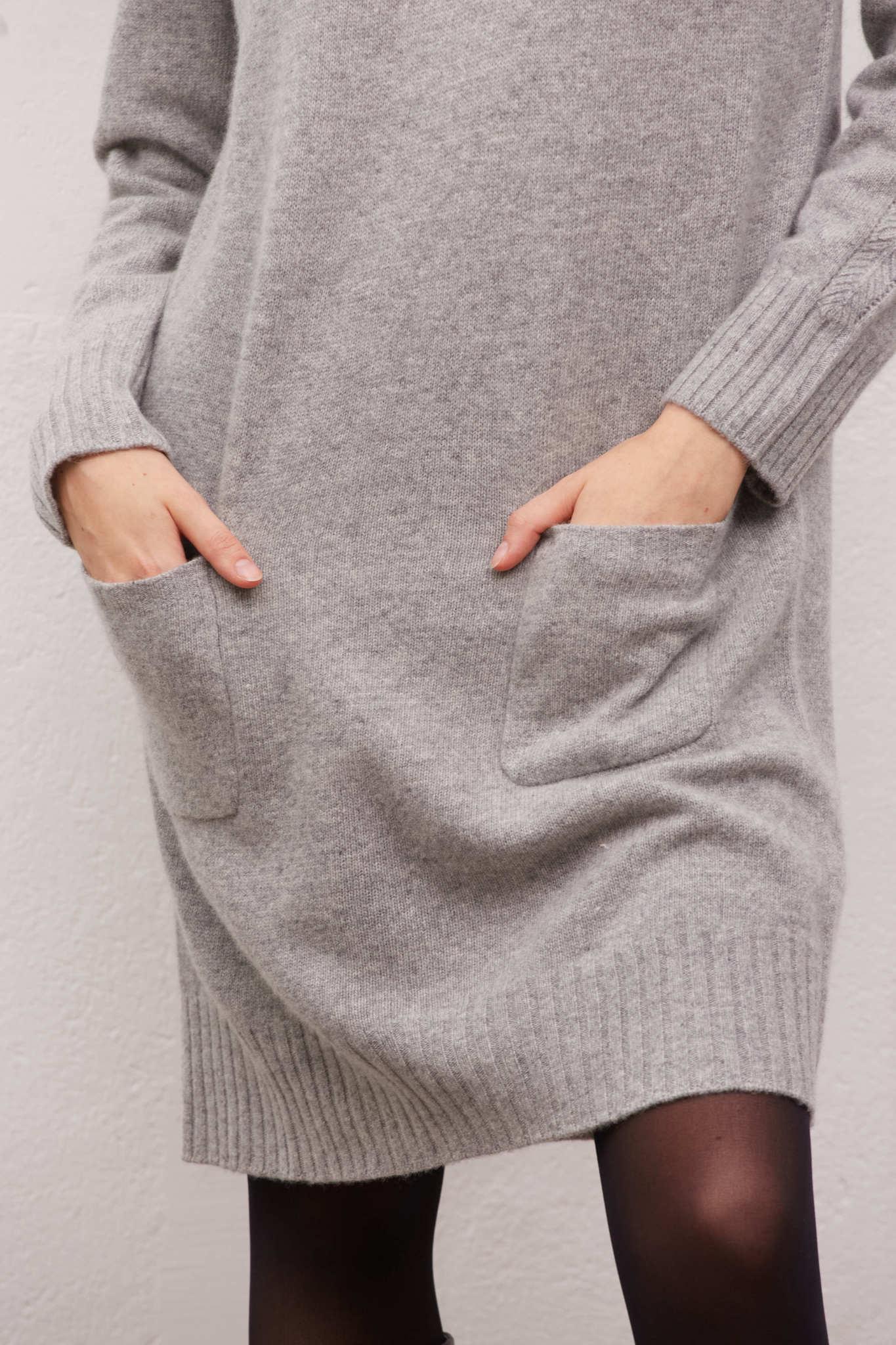 JOIA - Платье-свитер из шерсти и кашемира