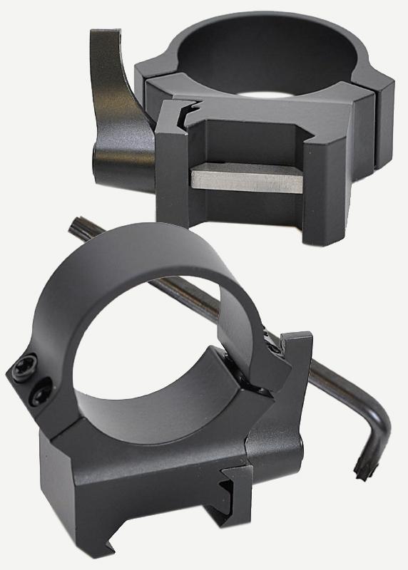 Кольца Leupold QRW2 на Weaver 25,4 мм, средние