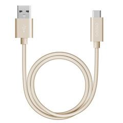 Кабель USB3.0-Type C 1.2m Deppa 72251 золото алюминий/нейлон
