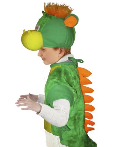 Костюм Дракона зелёный