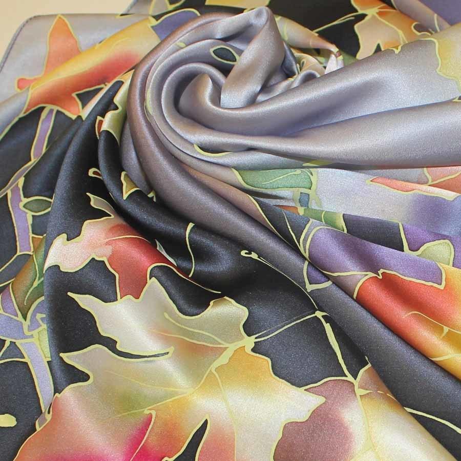 Платок Фиолетовя осень С-60