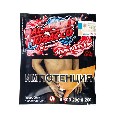 Табак Malaysian Tobacco 50 г Strawberry Kiss (Клубничный Поцелуй)