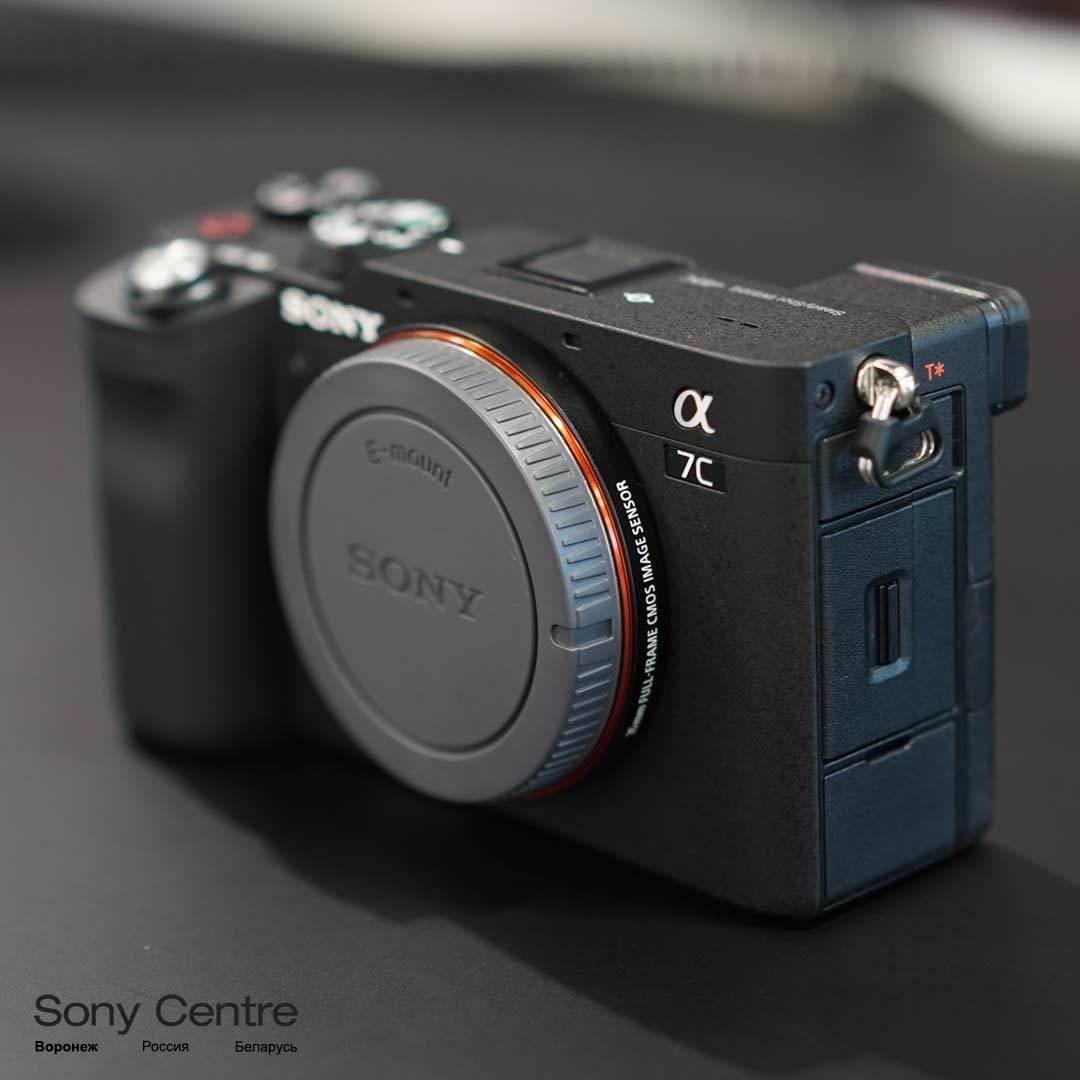 Фотоаппарат Sony ILCE7CB body чёрный купить в интернет-магазине Sony Centre