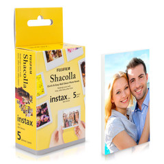 Самоклеящиеся панели FUJIFILM SHACOLLA instax size (8,6x5,4cm) 5шт для Fujifilm Instax Mini