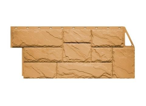 Фасадная панель Камень Крупный - Песочный