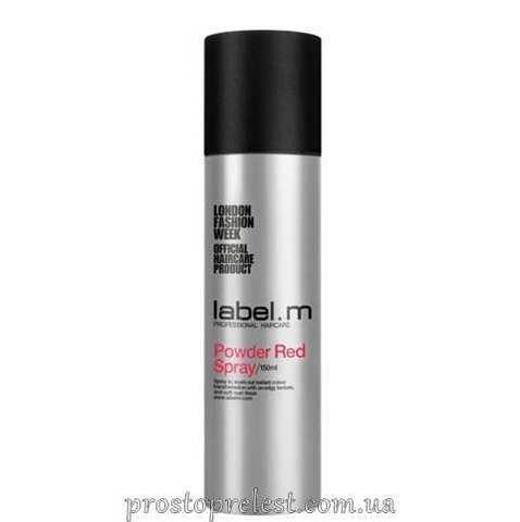 Label.M Powder Red Spray - Спрей-пудра для волос Красная