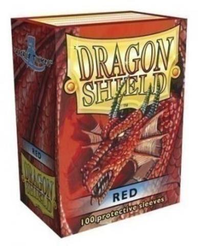 Протекторы Dragon Shield красные (100 шт.)