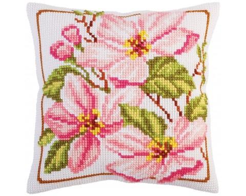 Подушка для вышивания Магнолия