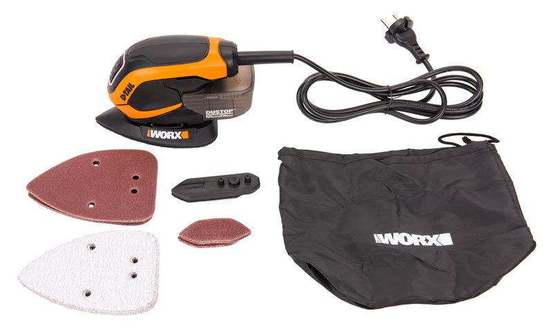 Мультифункциональная шлифовальная машина WORX WX648, 65Вт