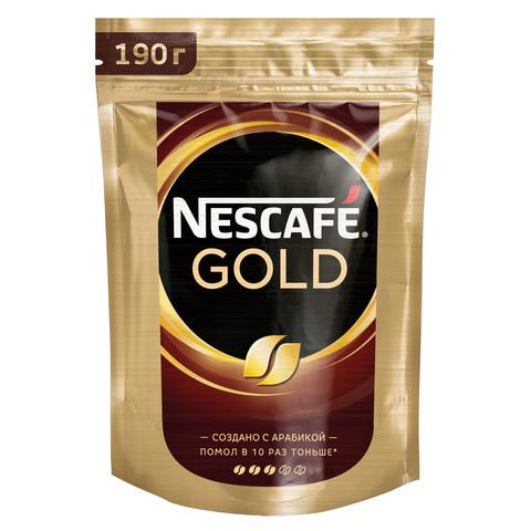 """Кофе """"Nescafe"""" Gold растворимый м/у 190г"""