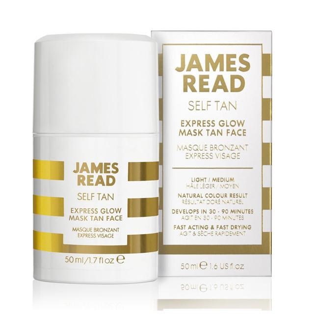 Экспресс-маска для лица James Read Self Tan Express Glow Mask Tan Face Light/Medium 50 мл