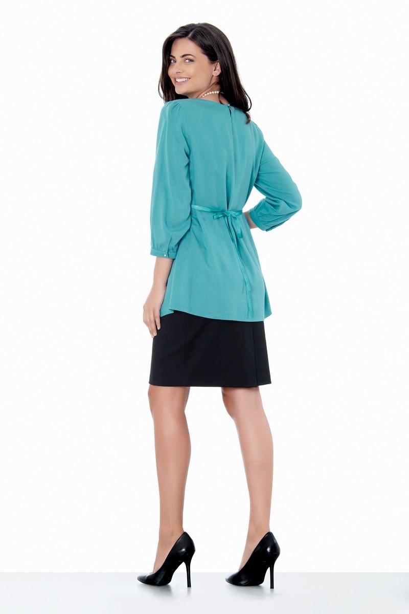 Блузка для беременных 01401 ментол